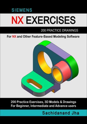 كتاب Siemens NX Exercises 200 Practice Drawings  E_2_p_15