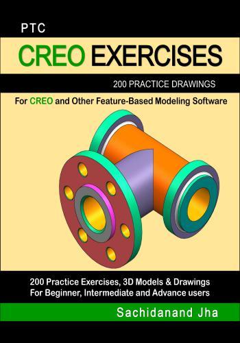 كتاب PTC CREO Exercises 200 Practice Drawings   E_2_p_16