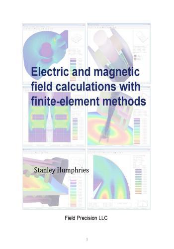 كتاب Electric and Magnetic Field Calculations With Finite-Element Methods  E_a_m_10