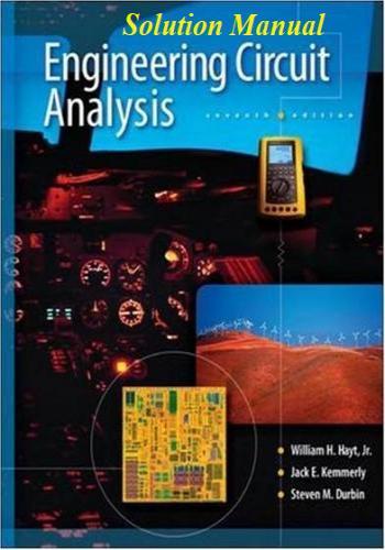 حل كتاب Engineering Circuit Analysis, 7th Edition - Solution Manual E_c_a_12