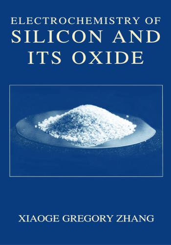 كتاب Electrochemistry of Silicon and Its Oxide  E_c_o_11