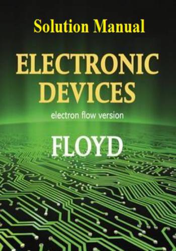 حل كتاب Electronic Devices Solution Manual E_d_6_10