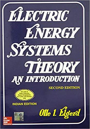 كتاب Electric Energy System Theory - An Introduction  E_e_s_10