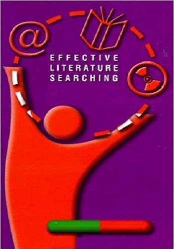 كتيب بعنوان Effective Literature Searching  E_l_s_10