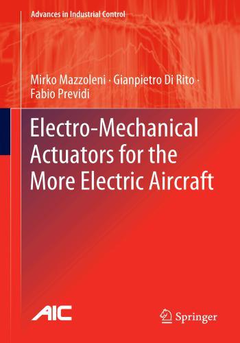 كتاب Electro-Mechanical Actuators for the More Electric Aircraft  E_m_a_10