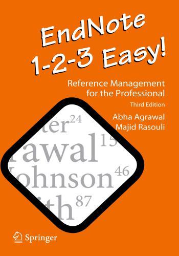 كتاب EndNote 1-2-3 Easy! - Reference Management for the Professional  E_n_1_11