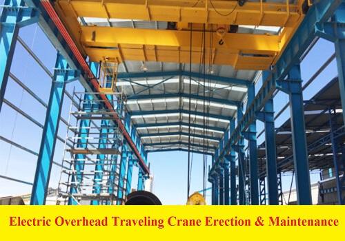 كتيب بعنوان Electric Overhead Traveling Crane Erection & Maintenance of E.O.T. Cranes E_o_h_10