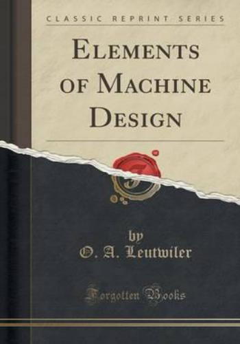 كتاب Elements of Machine Design  E_o_m_12