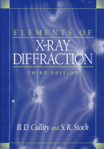 كتاب بعنوان Elements of X-Ray Diffraction E_o_x_10