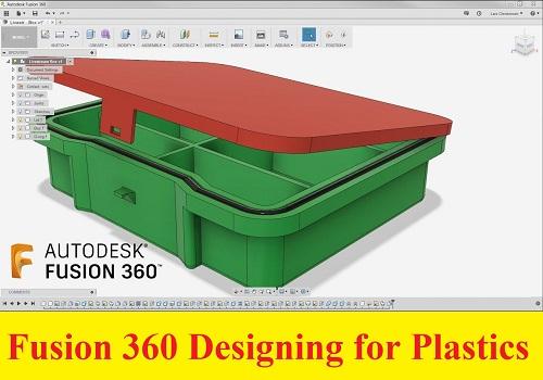 كورس تصميم البلاستيك باستخدام برنامج فيوجن - 360 Fusion 360 Designing for Plastics F_3_6_11
