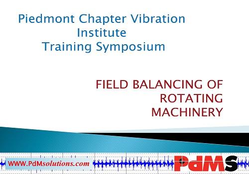 محاضرة بعنوان Field Balancing of Rotating Machinery  F_b_o_10