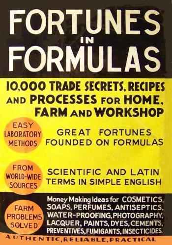 كتاب Fortunes in Formulas, for Home, Farm, and Workshop  F_i_f_11
