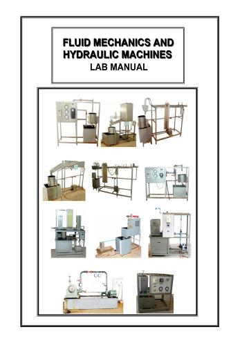 كتاب Fluid Mechanics and Hydraulic Machines Lab Manual  F_m_a_10
