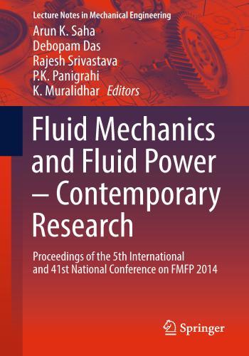 كتاب Fluid Mechanics and Fluid Power – Contemporary Research  F_m_a_11