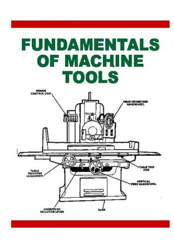 كتاب Fundamentals of Machine Tools F_m_t10