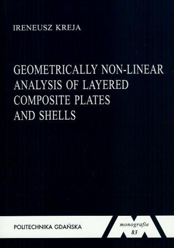 كتاب Geometrically Non-linear Analysis of Layered Composite Plates and Shells  G_n_l_10