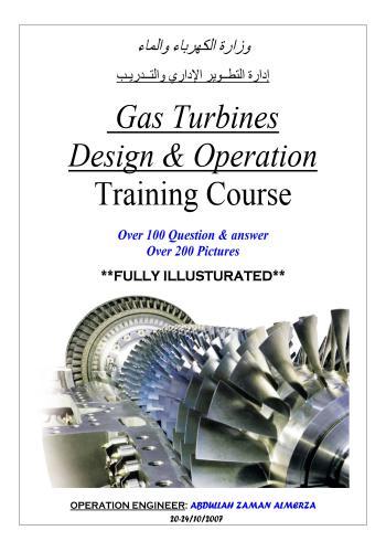 كتاب Gas Turbines Design & Operation  G_t_d_10