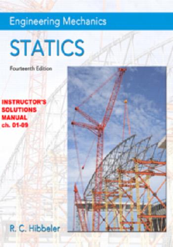 حل كتاب Hibbeler - Engineering Mechanics - Statics 14th Solution Manual H_e_m_11