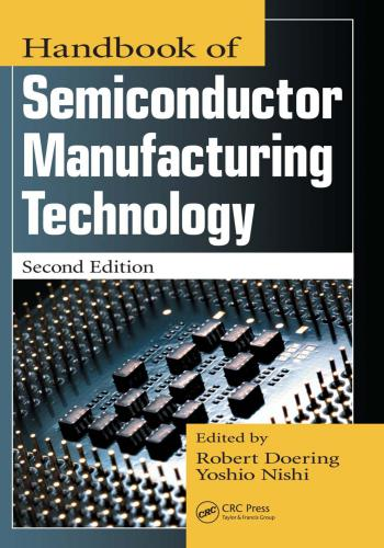 كتاب Handbook of Semiconductor Manufacturing Technology  H_o_s_11