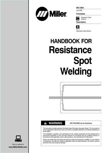 كتاب Handbook for Resistance Spot Welding  H_r_s_10