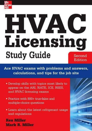 كتاب HVAC Licensing Exam Study Guide H_v_a_18
