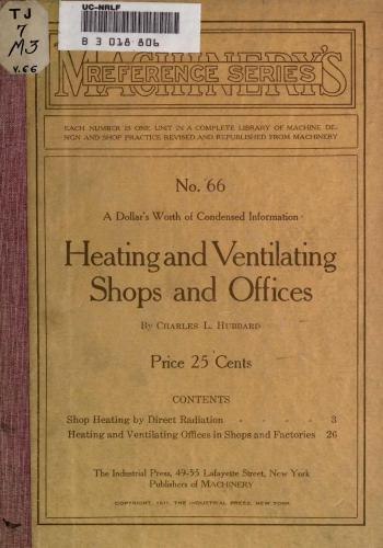 كتاب Heating and Ventilating Shops and Offices  H_v_s_10