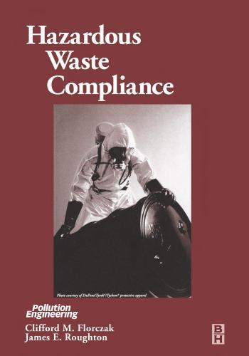 كتاب Hazardous Waste Compliance  H_w_c_10