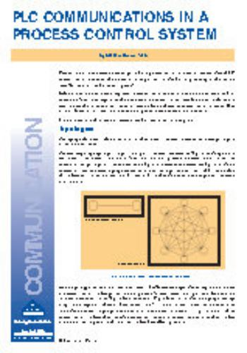 كتيب بعنوان PLC Communications in a Process Control System  I_a_p_10