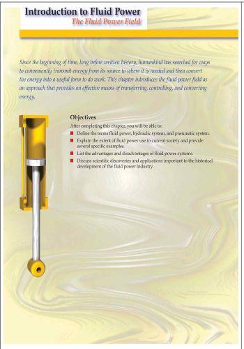 كتيب بعنوان Introduction to Fluid Power - The Fluid Power Field I_t_f_10