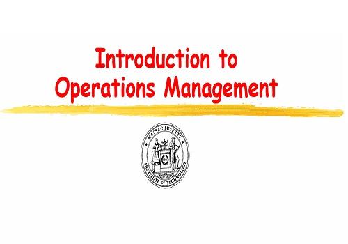 محاضرة بعنوان Introduction to Operations Management I_t_o_12