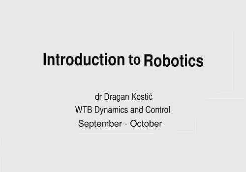 محاضرة بعنوان Introduction to Robotics  I_t_r_11