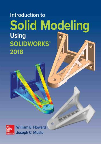 كتاب Introduction to Solid Modeling Using Solidworks 2018  I_t_s_11