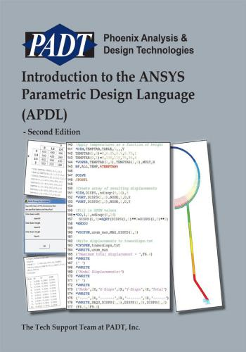 ansys - كتاب Introduction to the ANSYS Parametric Design Language (APDL) I_t_t_10