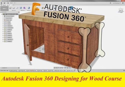 كورس تعليم أوتوديسك فيوجن 360 للتصميم على الأخشاب - Autodesk Fusion 360 Designing for Wood Course L_a_d_11