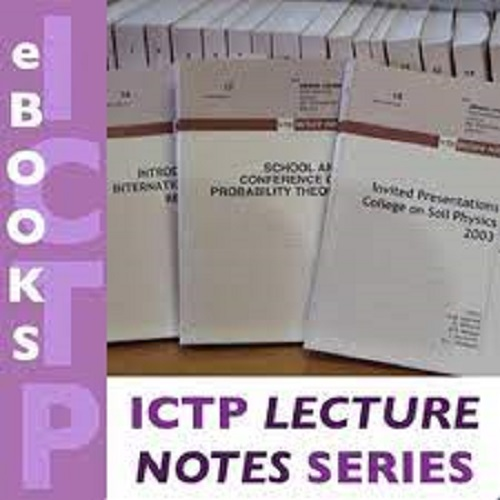 كتاب ICTP Lecture Notes  L_n_s_10