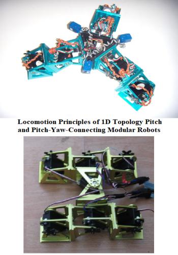 بحث بعنوان Locomotion Principles of 1D Topology Pitch and Pitch-Yaw-Connecting Modular Robots  L_p_o_10