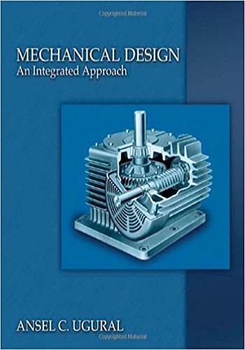 كتاب Mechanical Design An Integrated Approach M-d-i-10