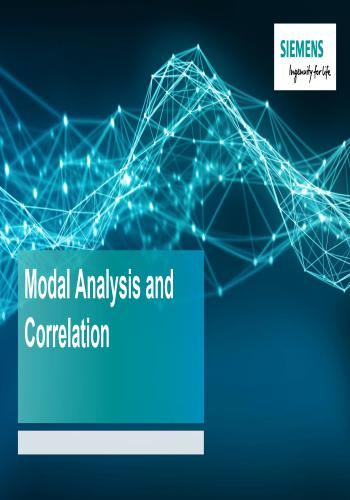 محاضرة بعنوان Modal Analysis and Correlation  M_a_a_10