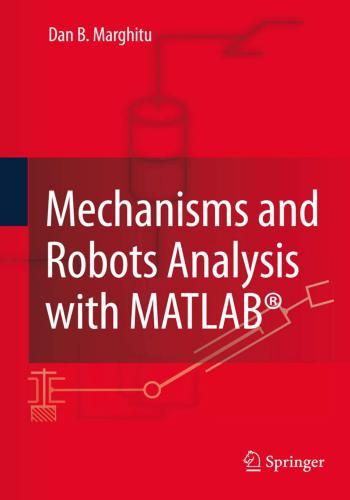 كتاب Mechanisms and Robots Analysis with MATLAB  M_a_r_11