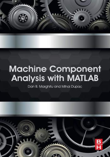كتاب Machine Component Analysis with MATLAB  M_c_a_12