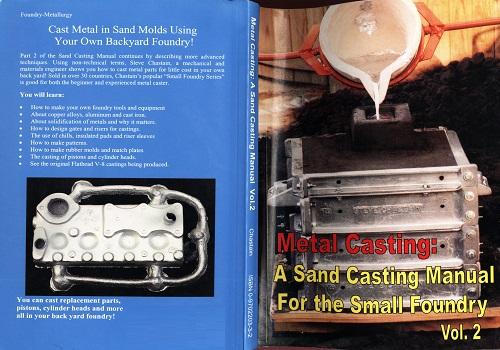 كتاب Metal Casting - a Sand Casting Manual for the Small Foundry Vol 2  M_c_s_10