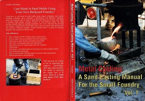 كتاب Metal Casting - a Sand Casting Manual for the Small Foundry Vol 1  M_c_s_11