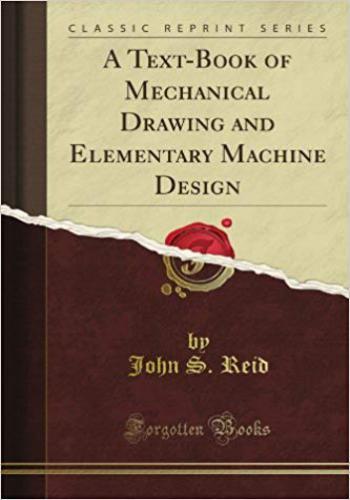 كتاب A Text Book of Mechanical Drawing and Elementary Machine Design  M_d_a_11