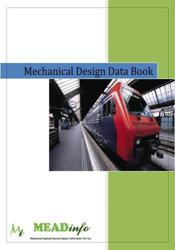 كتيب جامع وشامل وملخص لقوانين التصميم الميكانيكى - Mechanical Design Data Book  M_d_d_10