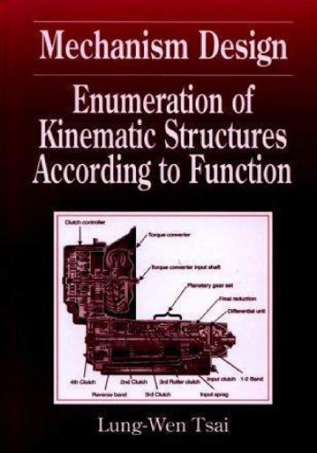 كتاب Mechanism Design - Enumeration of Kinematic Structures According to Function  M_d_e_13