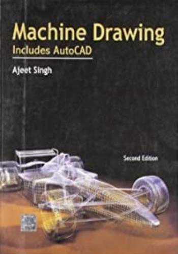 كتاب Machine Drawing - Includes AutoCAD  M_d_i_12