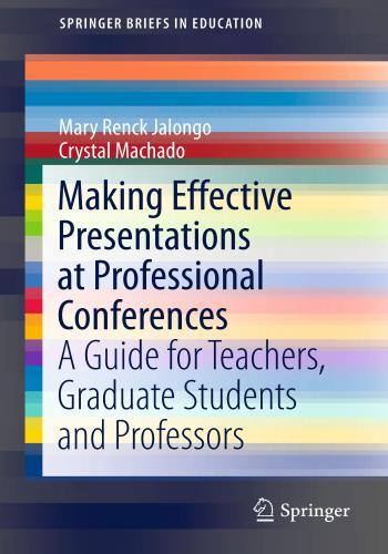 كتاب Presentations at Professional Conferences  M_e_p_12