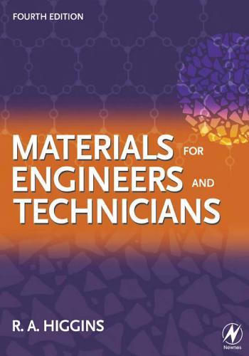 كتاب Materials for Engineers and Technicians  M_f_e_11