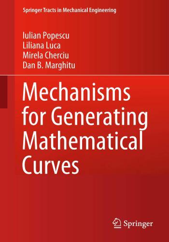 كتاب Mechanisms for Generating Mathematical Curves  M_f_g_14
