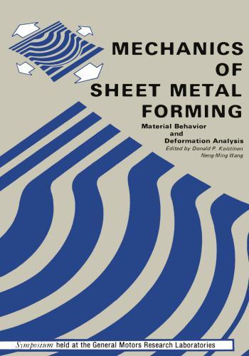 كتاب Mechanics of Sheet Metal Forming - Material Behavior and Deformation Analysis  - صفحة 2 M_f_s_12